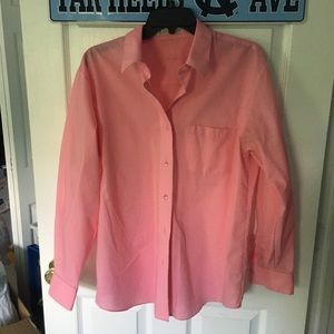 Pink women's dress shirt